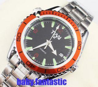 Mechanical Self winding Boys Sport Wrist Watch Gift TIMI Clock