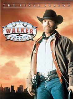 Walker Texas Ranger   The Final Season DVD, 2005, 6 Disc Set