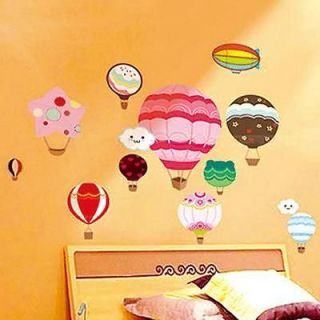 Balloon Home Nursery Room Wall Sticker Decor Decals Removable Art Kids