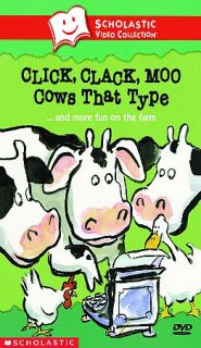 Click, Clack, Moo Cows That Typeand More Fun on the Farm DVD, 2003