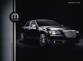 2012 Chrysler 300 Mopar Accessories Original Dealer Sales Brochure