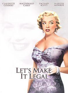 Lets Make It Legal DVD, 2004, Marilyn Monroe Diamond Collection
