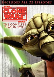 Star Wars The Clone Wars   The Complete Season Two DVD, 2010, 4 Disc