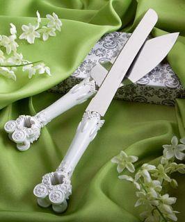 CINDERELLA FAIRY TALE WEDDING DAY BRIDAL ACCESSORY SET CAKE KNIFE