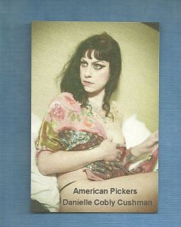 DANIELLE COBLY CUSHMAN Sexy American Pickers Flag Draped Magnet
