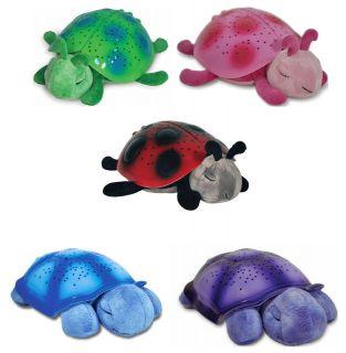 Cloud B Twilight Turtle Ladybug Plush Toy Constellation Night Light
