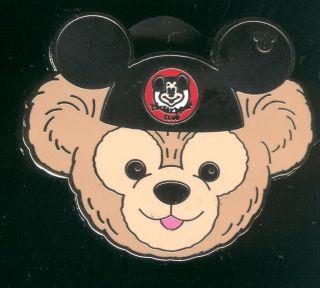 2012 Hidden Mickey Series Duffys Hats Mickey Ears Disney Pin 91262