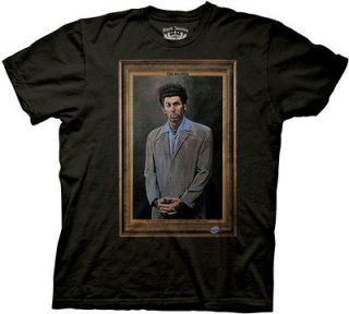 Seinfeld The Kramer Officially Licensed Adult T Shirt S M L XL 2XL
