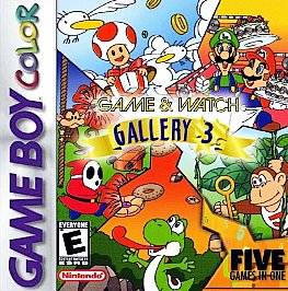 Game & Watch Gallery 4 Nintendo Game Boy Advance 2002 Video Game Adult