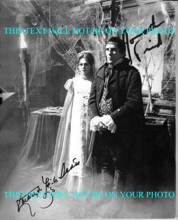 DARK SHADOWS CAST KATHRYN LEIGH SCOTT AND JONATHAN FRID AUTOGRAPHED RP