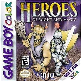 Heroes of Might and Magic Nintendo Game Boy Color, 2000