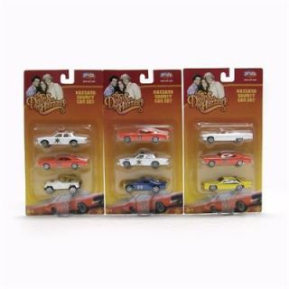 DUKES OF HAZZARD General Lee 9 Car Set ~~Hard to Find~~