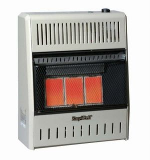 World KWP192 3 Plaque Infrared 15,000 BTU LP Gas Vent Free Wall Heater