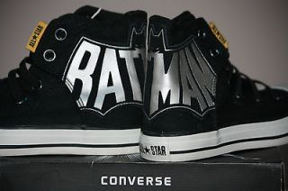 converse all star batman dc comics dark knight rises mens 11 5 womens