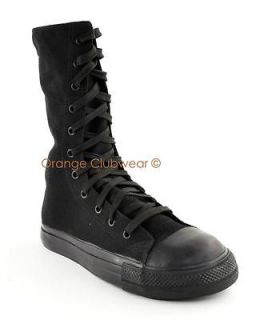 DEMONIA Tyrant 201ST Mens STEEL TOE Goth Punk Sneakers Casual Gothic