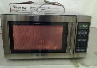 Newly listed Magic Chef 1.6 cu. ft. Countertop Microwave in Stainless