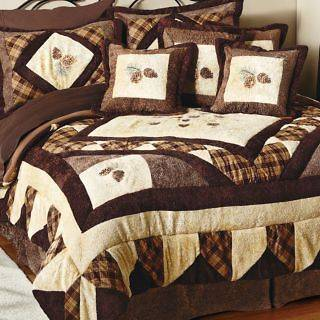 pine cone quilt in Home & Garden