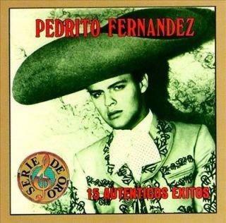 PEDRITO FERNANDEZ   15 AUTENTICOS EXITOS [PEDRITO FERNANDEZ]   NEW CD
