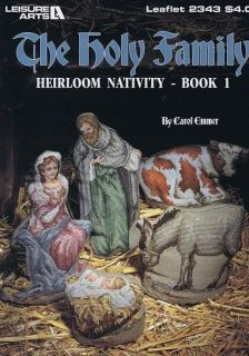 The Holy Family   Nativity Scene   Cross Stitch Chart