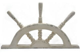 Wood Half Boat Steering Wheel Decor 21 Nautical Home Decor Wall
