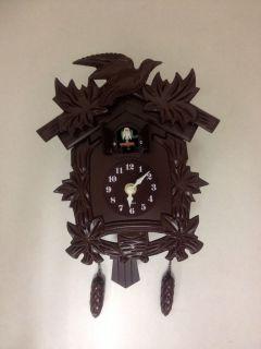 Cuckoo Clock Black Forest Birdhouse Style Cuckoo Bird Clock Hourly
