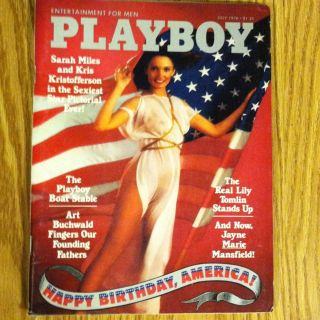 Playboy July 1976 Cyndi Wood, Deborah Borkman
