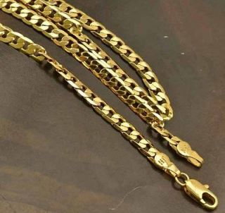 mens real gold chain in Mens Jewelry