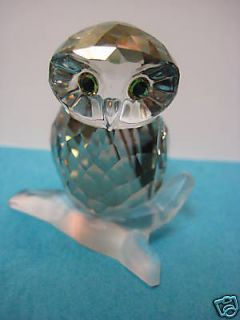 swarovski crystal owl in Decorative Collectibles