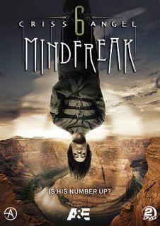 Criss Angel Mindfreak   The Complete Season Six DVD, 2011, 2 Disc Set