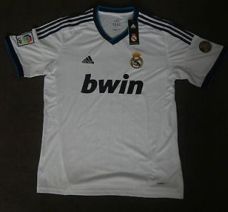 CRISTIANO RONALDO   REAL MADRID 2012/13 HOME Jersey NEW With TAGS