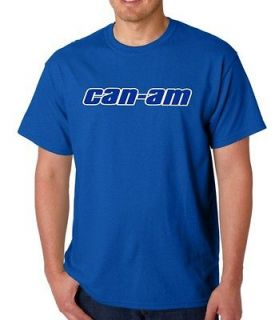 CAN AM T SHIRT LYNX SEA BRP SKI DOO ROTAX ATV SPYDER COMMANDER