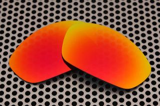 VL Polarized Fire Red Replacement Lenses for Oakley Straight Jacket