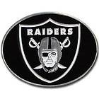 NFL Football Oakland Raiders Logo Belt Buckle with Hand Enameled