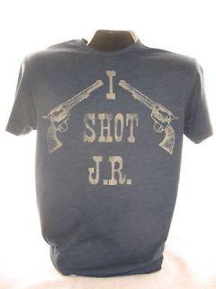 Dallas TV Show Ewings Texas J R T Shirt Tee New XL