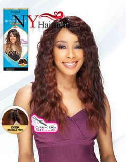 Freetress Equal Synthetic Lace Front Deep Invisible Part Wig   Milly