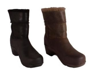 Dansko Womens Stormy Oiled Nubuck Black or Brown Ankle High Boots Size