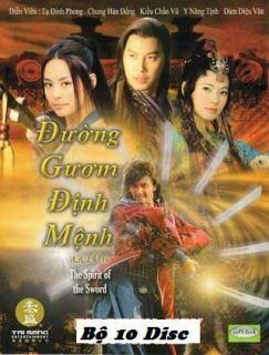 Duong Guom Dinh Menh, Bo 10 Dvds, Phim Kiem Hiep 40 Tap