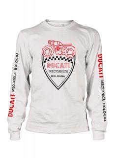 CLassic Ducati Motorcycles vintage retro Long Sleeve t shirt