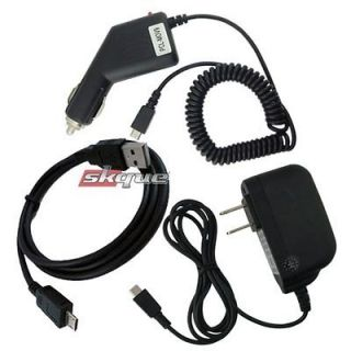 Newly listed Micro Car+Wall Charger USB Cable kit For Kindle 2 3,Touch
