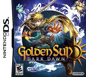 Golden Sun Dark Dawn Nintendo DS, 2010
