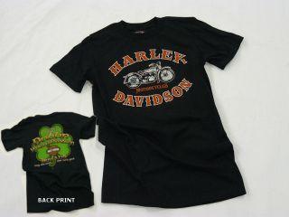 Dublin Harley Davidson Irish Road Revolution Mens T shirt
