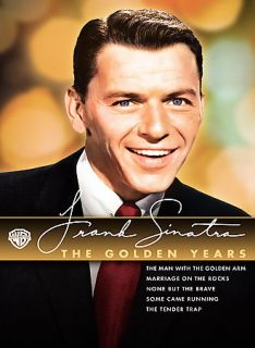 Frank Sinatra The Golden Years DVD, 2008, 5 Disc Set, Slipcase