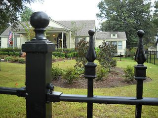high 5 ft. Residential grade iron fence. wrought iron fence