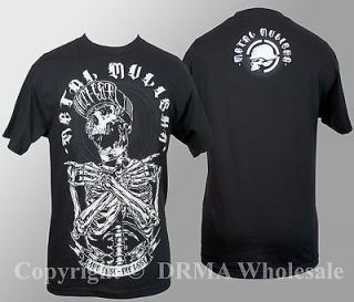 Authentic METAL MULISHA Skull Remains T Shirt S M L XL XXL NEW