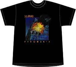 Def Leppard Vintage Pyromania Mens Medium T Shirt New