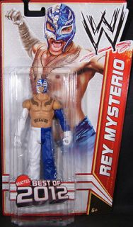 REY MYSTERIO WWE MATTEL BEST OF BASIC 2012 ACTION FIGURE