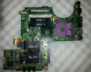 Dell XPS M1330 LAPTOP FAULTY INTEL MOTHERBOARD FOR PARTS PORTS SPARES