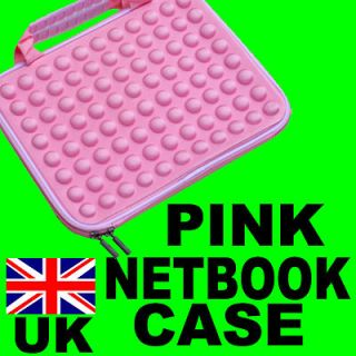 PINK 10.1 MINI LAPTOP NETBOOK NOTEBOOK CASE BAG NEW A