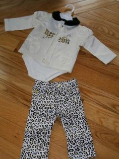 DEREON 3 PC Jacket, Jeans & Shirt Gift Set   NEW in Gift Box SZ 24 MO