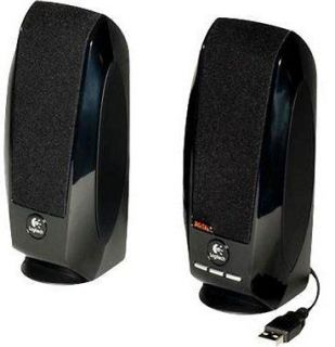Logitech Computer Compact stereo System USB Speakers New Fast Shipping